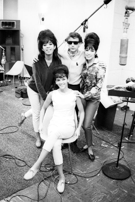 The Ronettes and Phil Spector